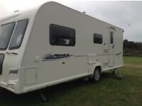 Bailey Pegasus 514 Reg. January 2012 . Four Berth.End washroom