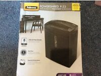 Brand new fellowes P-33 power shred
