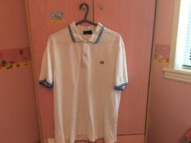 Men's Fred perry polo shirt XL / men's Ralph Lauren Large more like XL