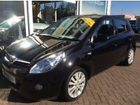 Hyundai i20 Style 2011 halfleather and climate control- excellent condition