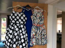3 party dresses age 10