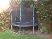 TP 10ft Trampoline +Enclosure
