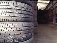 Part worn tyres A grade quality tyres top brands pressure tested