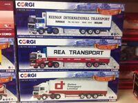 Rare corgi limited editions lorrys 1:50 scale