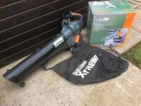 Challenge 2400 W Garden Leaf Blower/Shredder