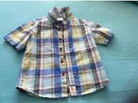 Boys shirts and chinos 18-24 months