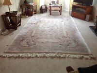 Large Chinese style rug in excellent condition