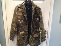 ASOS girls camouflage jacket