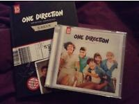 X2 One Direction CDs + Limited Addition Yearbook