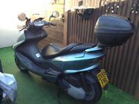 Yamaha yp 125 mint condition only 5000 miles genuine bike