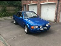 Escort XR3i Cabriolet. One owner since registration. Excellent condition inside and out.