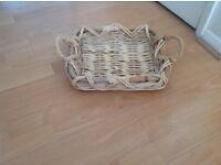Small Wicker Basket (Shallow)