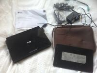 LG PORTABLE DVD PLAYER WITH CASE AND NEW BATTERY