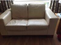 Free!! small leather sofa.