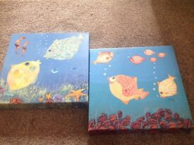 Fish canvas pictures
