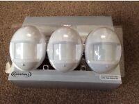 Yale Wireless Alarm PIR Sensors - set of three