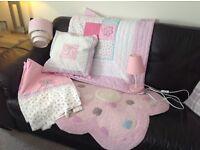 Next coordinating bedroom items.