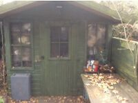veranda shed 8 ftx8ft tongue/groove