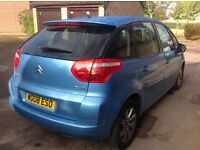Citroen C4 Picasso ..stunning blue pristine example ...CAMBELT DONE, NEW TYRES AND SERVICE