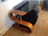 JUAL CURVED TV STAND