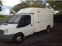 Transit luton ex bt 2007/07 vgc ideal tipper recovery horse box etc no vat £3250