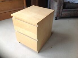 Small two drawer chest.