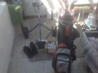 Set of Ram Golf Clubs plus Extras