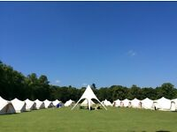 Event Crew required by Luxury Camping Company