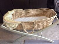 Mothercare Moses basket in great condition