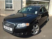 2006 Audi A4 2.0TDI SE Avant 170BHP MOT until 9/10/17, 1 owner, well looked after car