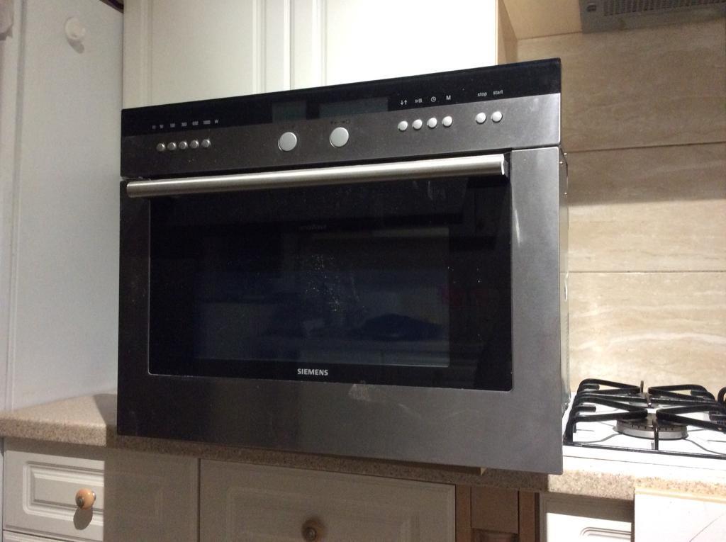 Integrated Microwave Siemens Neff Miele Stainless Steel