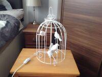 Bird cage lamp