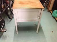 Hand painted side table