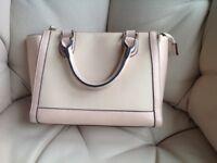 Pink handbag