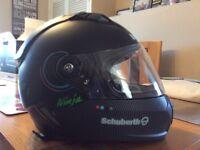 Schuberth sr1 super bike helmet
