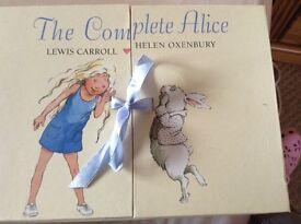 Box set of books - the complete Alice