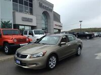 2008 Honda Accord EX-L, Leather, Sunroof, Nav, Clean Carproof
