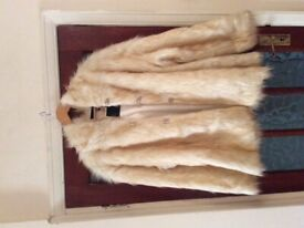 Fluffy Hooded Faux Fur Coat - FREE POSTAGE