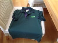 Cubs polo shirt size 28""