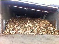 firewood logs hardwood kiln dried seasoned kindling ton bags nets crates bulk loads kilndried