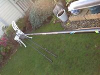 Brand new full kit pole , seat , nets , umbrella, never been used .