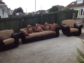 READVERTISED DUE TO TIME WASTER QUALITY 3-PIECE SUITE -CAN DELIVER