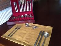 Never used 6 setting 42 piece canteen of cutlery still in polyethylene