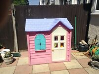 Little tyke pink country cottage