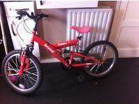 Boys Arsenal Bike