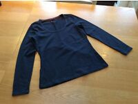 Boden navy top size 14