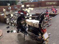 LML 125 ( PX210 engine) Stunning Bike