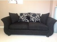 DFS Joelle 3 seater Deluxe Pillow back Sofa bed