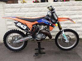 Ktm 125 2014 lovely looking bike