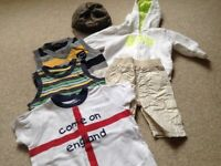 Baby boys clothes bundle mostly 3-6m around 40 items